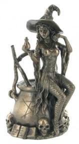 Статуэтка Ведьма на котле - фото 8233