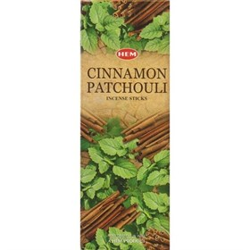Cinnamon Patchouli (№36) / Корица Пачули благовоние Hem 6-гранки - фото 8390