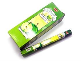 Green Apple (№83)/ Зеленое яблоко благовоние Hem 6-гранки - фото 8411