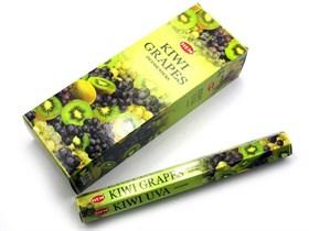 Kiwi-Grapes (№96)/ Киви-Виноград благовоние Hem 6-гранки - фото 8416