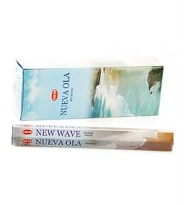 New Wave (№114)/ Новая волна благовоние Hem 6-гранки - фото 8427
