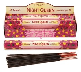 Night Queen (№116) / Королева ночи  благовоние Tulusi 6-гранки - фото 8428