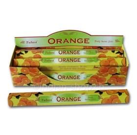 Orange (№122)/ Апельсин  благовоние Tulusi 6-гранки - фото 8432