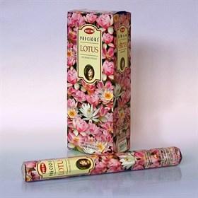 Precious Lotus (№129)/ Любимый Лотос благовоние Hem 6-гранки - фото 8433