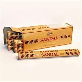Sandal (№154) / Сандал благовоние Hem 6-гранки - фото 8445