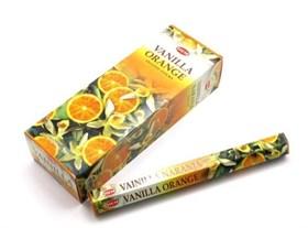 Vanilla Orange (№169) / Ваниль - Апельсин благовоние Hem 6-гранки - фото 8454