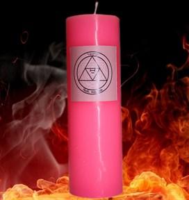 Базовая свеча Каббалы Любовная магия (3) - фото 8661