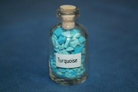 Бирюза: камни в бутылочке - фото 8782
