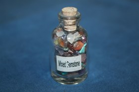 Смешанные камни в бутылочке - фото 8783