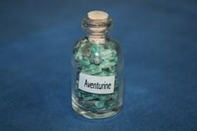 Авантюрин зеленый: камни в бутылочке - фото 8785