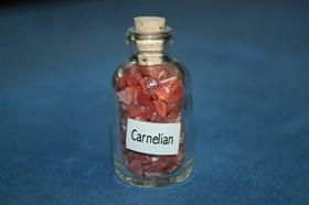 Сердолик (карнелиан): камни в бутылочке - фото 8795