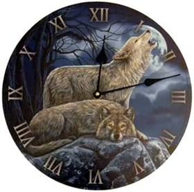 """Часы настенные """"Волки"""" - фото 8887"""
