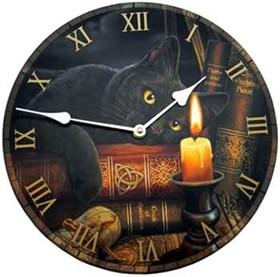 """Часы настенные """"Черный кот""""  - фото 8888"""