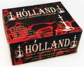 """Древесный уголь """"Holland"""" в таблетках (10 шт.) - фото 8898"""