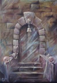 """Двери, которых нет 794: Тайна"" картина - талисман - фото 9182"