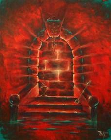 """""""Двери, которых нет 268: Ярость"""" картина - талисман - фото 9183"""