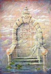 """""""Двери, которых нет 444: Проводники"""" картина - талисман - фото 9184"""