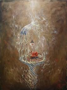 """Ловец удачи"" картина - талисман - фото 9186"