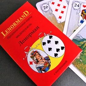 Предсказательные карты мадам Ленорман, 36 шт. (Красные) - фото 9221