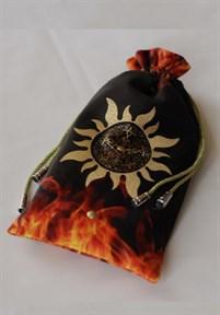 "Мешочек для Таро ""Солнечная Пентаграмма"" - фото 9282"