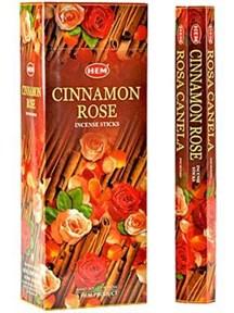 Cinnamon-Rose (№37)/ Корица-Роза благовоние Hem Hexa шестигранник - фото 9330