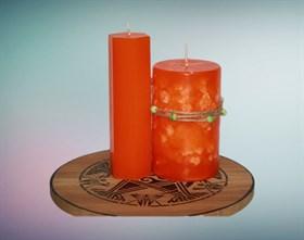 Мандарин мистическая свеча - фото 9401