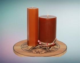 Медовая мистическая свеча - фото 9402