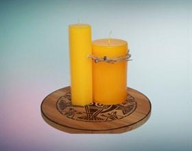Подсолнухи мистическая свеча - фото 9405