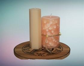 Пустынный шалфей мистическая свеча - фото 9407