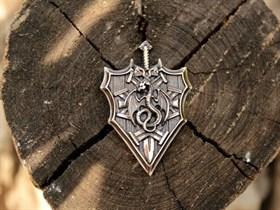 Щит Дракона с мечом - фото 9771