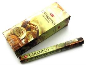 Butterscotch (№23) / Карамель благовоние Hem 6-гранки - фото 9782