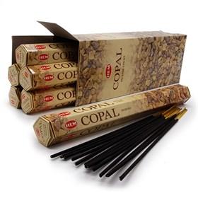 Copal (№45) / Камедь  благовоние Hem 6-гранки - фото 9786