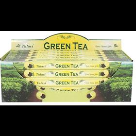 Green Tea (№86) / Зеленый Чай благовоние Tulusi 6-гранки - фото 9813