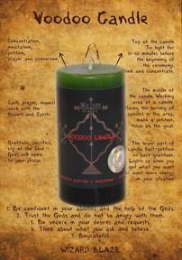 Компонент работы с мертвыми – призыв свеча Вуду - фото 9849