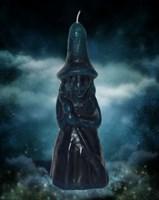 Свеча Ведьмина сила синяя