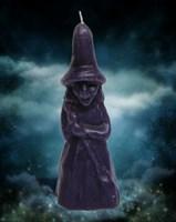 Свеча Ведьмина сила фиолетовая