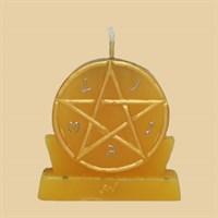 Богатство (большая - желтая) свеча