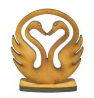 Лебеди любви настольный талисман
