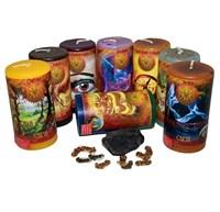 Удача и благополучие набор из 8 свечей RW