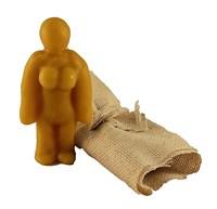 Кукла Вуду женский вольт (желтый)