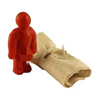 Кукла Вуду мужской вольт (Красный)
