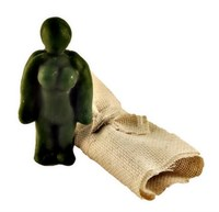 Кукла Вуду женский вольт (Зеленый)