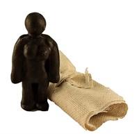 Кукла Вуду женский (Черный)