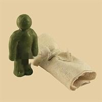 Кукла Вуду мужской вольт (Зеленый)