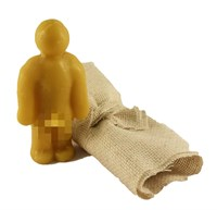 Кукла Вуду мужской вольт (Желтый)