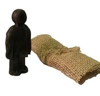 Кукла Вуду Мужской вольт (Черный)