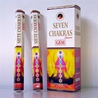 7 Chakras / Чистка и гармонизация чакр благовоние Ppure 6-гранки