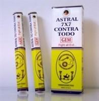 7 х 7 Contra todo - Против астральных сущностей благовония Ppure 6-гранки