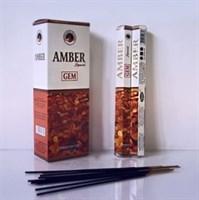 Amber / Амбер благовоние Ppure 6-гранки