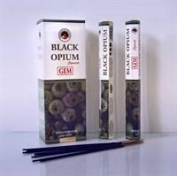 Black Opium / Черный опиум благовоние Ppure 6-гранки